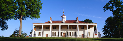 George Washington's Home at Mount Vernon, Virginia Photographic Print by Panoramic Images
