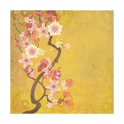 Tokyo Cherry IV Plakater af Evelia Designs