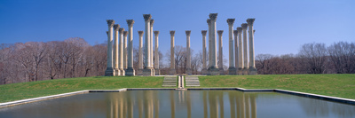 National Capitol Columns, National Arboretum, Washington Dc Photographic Print by Panoramic Images