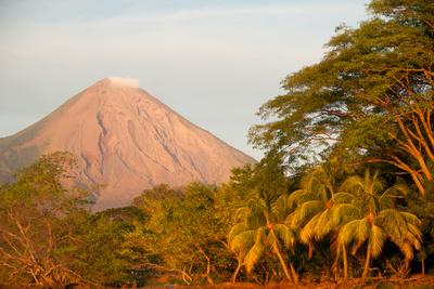 Concepcion Volcano on Ometepe Island Photographic Print by Jordi Busque