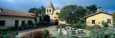 Mission San Carlos Borromeo De Carmelo, Carmel, California Photographic Print by Panoramic Images