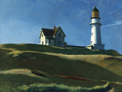 Lighthouse Hill, 1927 Giclee Print by Edward Hopper