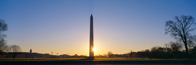Washington Monument at Sunrise, Washington Dc Photographic Print by Panoramic Images