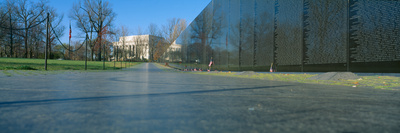 Vietnam Veteran's Memorial, Washington Dc Photographic Print by Panoramic Images