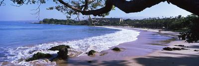 Surf on the Beach, Mauna Kea, Hawaii, Usa Photographic Print by Panoramic Images