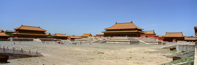 Palace Area of the Forbidden City in Beijing in Hebei Province, People's Republic of China Photographic Print by Panoramic Images
