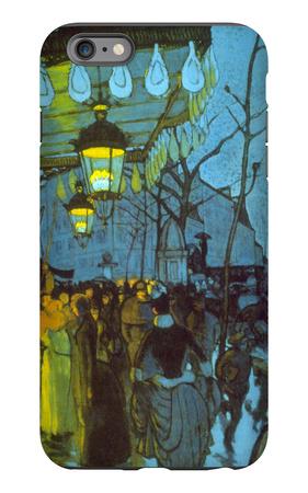 Avenue De Clichy iPhone 6s Plus Case by Louis Anquetin