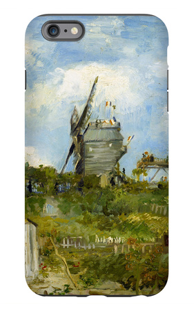 Blut Fin Windmill iPhone 6 Plus Case by Vincent van Gogh