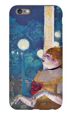 The Concert Cafe (The Song of the Dog) iPhone 6 Plus Case by Edgar Degas