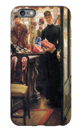 The Seller iPhone 6 Plus Case by James Tissot