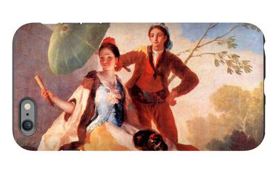 The Umbrellas iPhone 6 Plus Case by Francisco de Goya