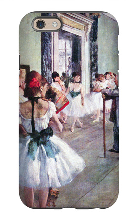 The Dance Class iPhone 6s Case by Edgar Degas