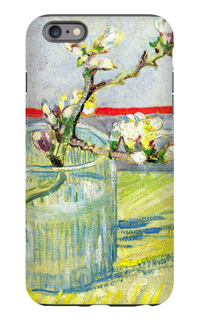Almond Blossom Branch iPhone 6 Plus Case by Vincent van Gogh