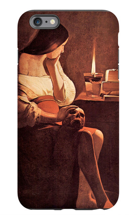 Magdalen with the Smoking Flame iPhone 6 Plus Case by Georges de La Tour
