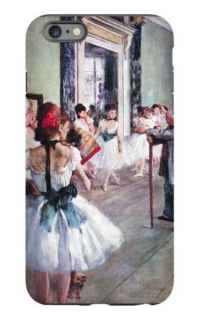 The Dance Class iPhone 6 Plus Case by Edgar Degas