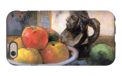 Still Life with Apples, Pears and Krag iPhone 6s Case by Paul Gauguin