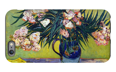 Still Life with Oleander iPhone 6 Plus Case by Vincent van Gogh