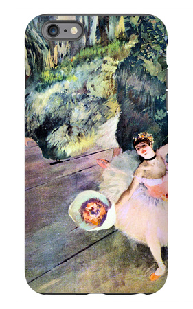 Dancer with a Bouquet of Flowers (The Star of the Ballet) iPhone 6 Plus Case by Edgar Degas