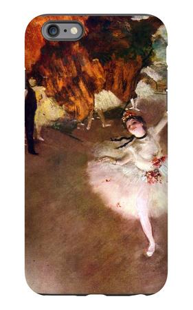 The Prima Ballerina iPhone 6 Plus Case by Edgar Degas