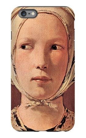 Woman's Head Frontally iPhone 6 Plus Case by Georges de La Tour