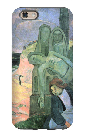 Green Christ iPhone 6s Case by Paul Gauguin