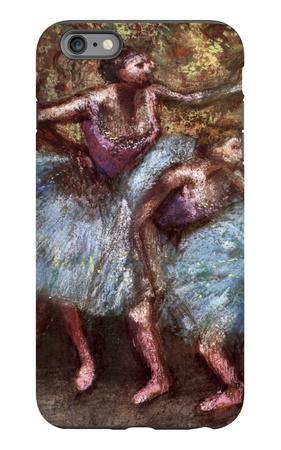 Four Dancers Behind the Scenes iPhone 6 Plus Case by Edgar Degas