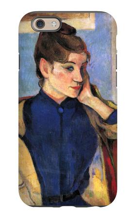 Madeleine Bernard iPhone 6s Case by Paul Gauguin