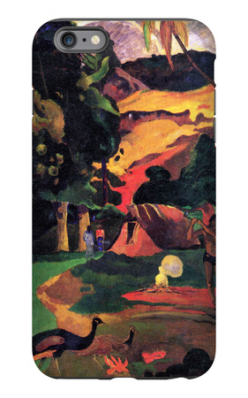Landscape with Peacocks iPhone 6s Plus Case by Paul Gauguin