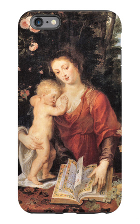 Mary with Child iPhone 6 Plus Case by Peter Paul Rubens