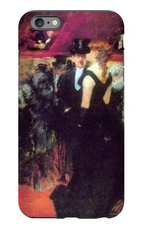 Paris Opera iPhone 6 Plus Case by Jean Louis Forain