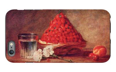 The Strawberry Basket iPhone 6 Plus Case by Jean-Baptiste Simeon Chardin