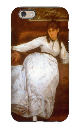 Berthe Morisot iPhone 6s Case by Édouard Manet