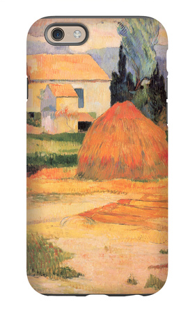 Farmhouses in Arles iPhone 6s Case by Paul Gauguin