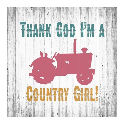 Country Girl Print by Alicia Soave