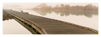 Tranquil Pier Prints by Alan Blaustein