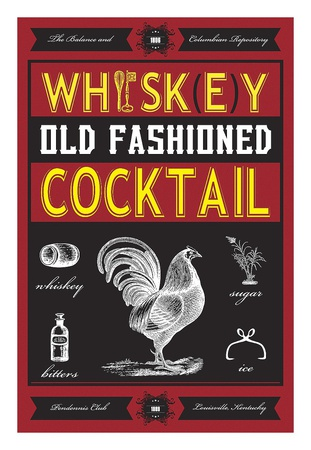 Old Fashioned Art by  Fig & Melon Press