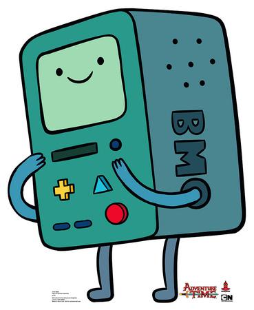 Adventure Time - BMO Lifesize Standup Cardboard Cutouts