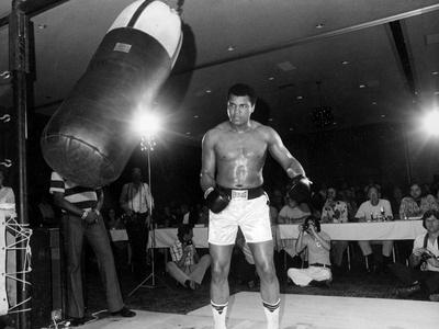 Training of Muhammad Ali in Washington April 20, 1976 Photo