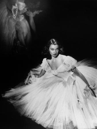 English Actress Vivien Leigh (1913-1967) in 1940 Photo