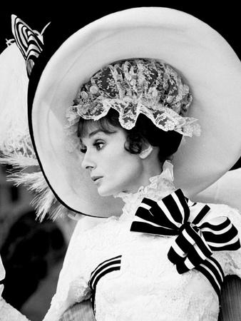 My Fair Lady De Georgecukor Avec Audrey Hepburn 1964 Foto