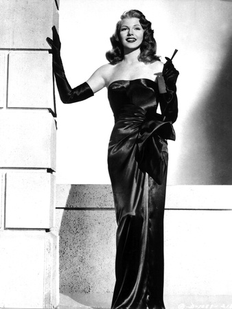 Gilda De Charlesvidor Avec Rita Hayworth 1946 Photo