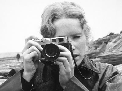 Persona, Ingmar Bergman, Liv Ullmann, 1966 Photo