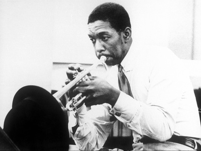 Kenny Dorham (Mckinley Howard Dorham, 1924-1972) American Jazz Trumpet Player C. 1960 Photo