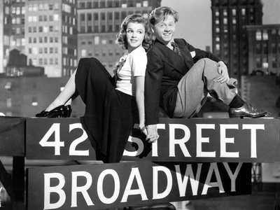 Debuts a Broadway Babes on Broadway, 1941 Photo