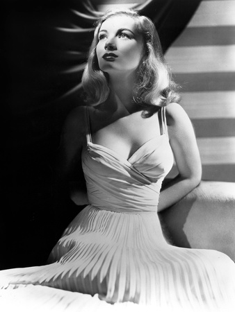 Veronica Lake (1919-1973) American Actress C. 1941 Photo