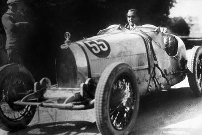 Ettore Bugatti (1881-1947)Italian Car Manufacturer, 20's Photo