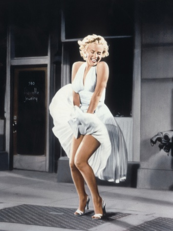 Marilyn Monroe in 'The Seven Year Itch', 1955 Photo