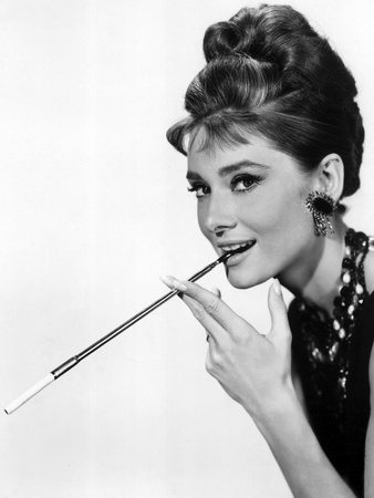 Audrey Hepburn in Breakfast at Tiffany's, 1961 Foto