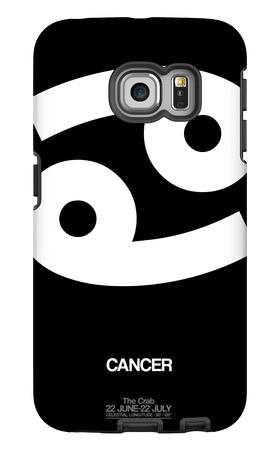 Cancer Zodiac Sign White Galaxy S6 Edge Case by  NaxArt