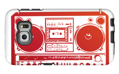 Boombox Galaxy S6 Edge Case by  PixelEmbargo